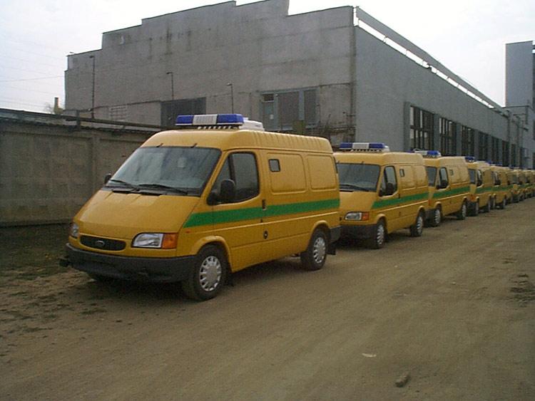 Ford Transit на банковской службе Республики Беларусь