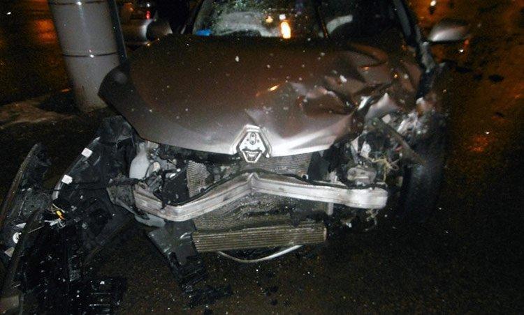 В Минске в результате ДТП ребенка выбросило из машины