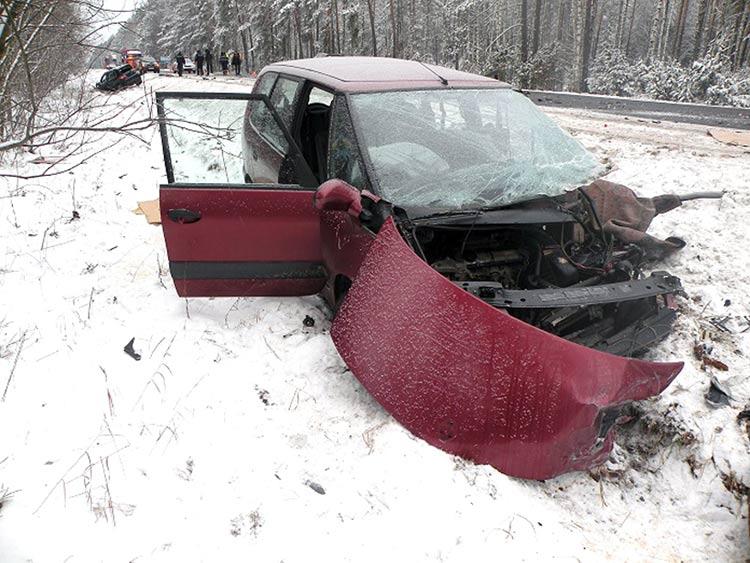 Результатом обгона на трассе Р99 стало ДТП и гибель человека