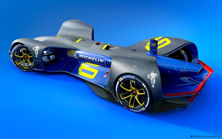 Мишленстала официальным поставщиком шин для гоночных Roborace