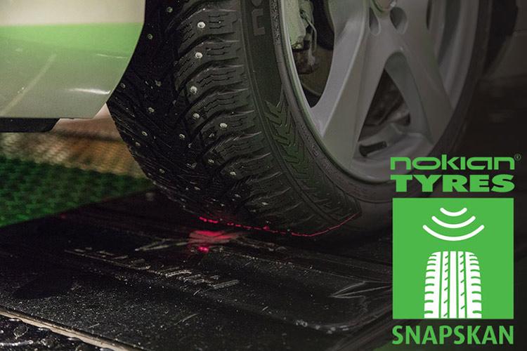 SnapSkan от Nokian Tyres – новое слово в безопасности на дороге!