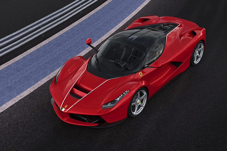LaFerrari установил ценовой рекорд для современных автомобилей