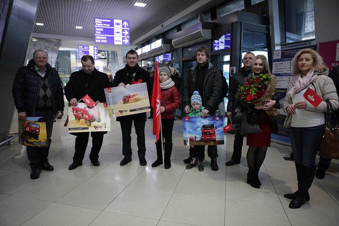 "Команда ""МАЗ-СПОРТавто"" вернулась домой с ""Дакара-2017"""