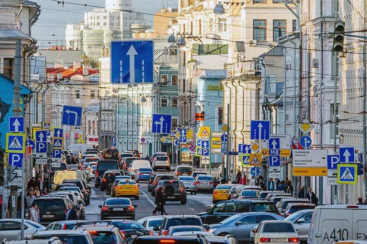 В Москве появятся уменьшенные дорожные знаки