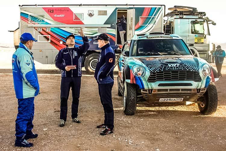 Россияне укрепляют лидерство на Africa Eco Race 2017