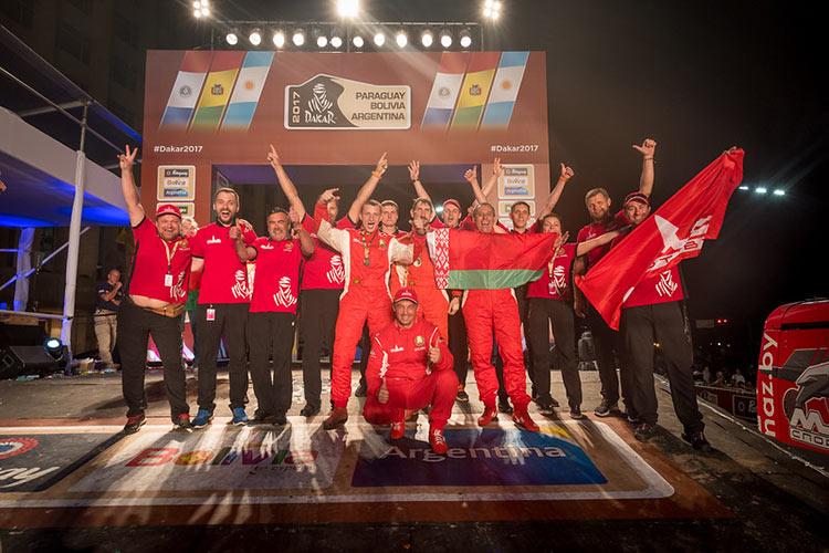 Белорусы покорили «Дакар» с лучшим результатом за свою историю