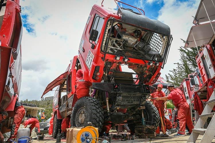 "Dakar 2017, МАЗ, ""МАЗ-СПОРТавто"""