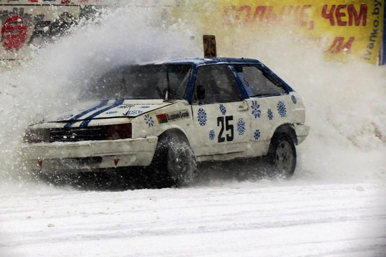 Сергей Выдронок, гонки Горячий лед 2017