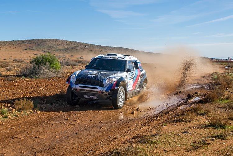 G-Energy Team выигрывает первый спецучасток Africa Eco Race
