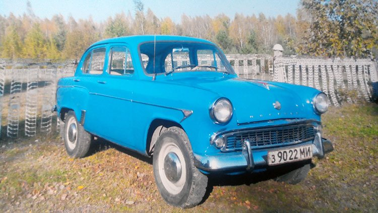 Представитель советского автопрома «Москвич-407»
