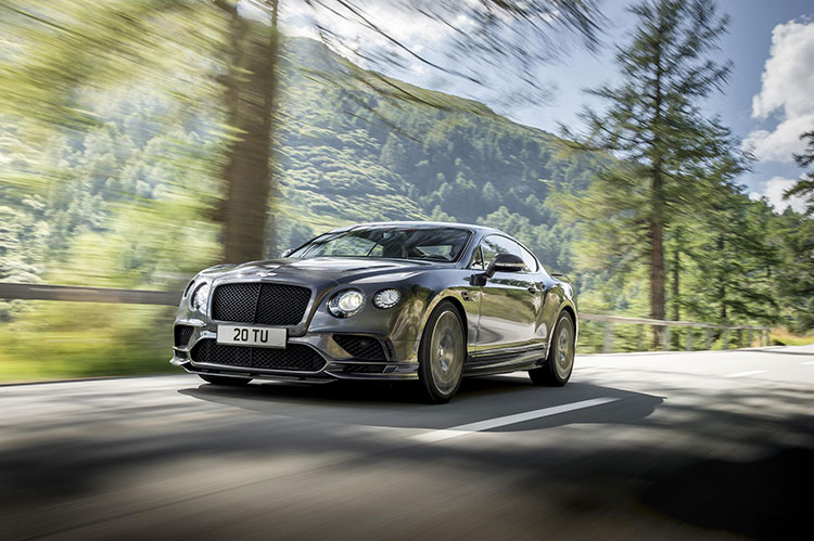 Bentley выпускает на охоту новый Continental Supersports