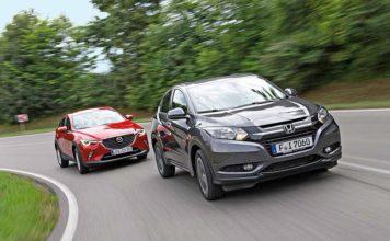 Honda HR-V и Mazda CX-3: истребители хэтчбеков