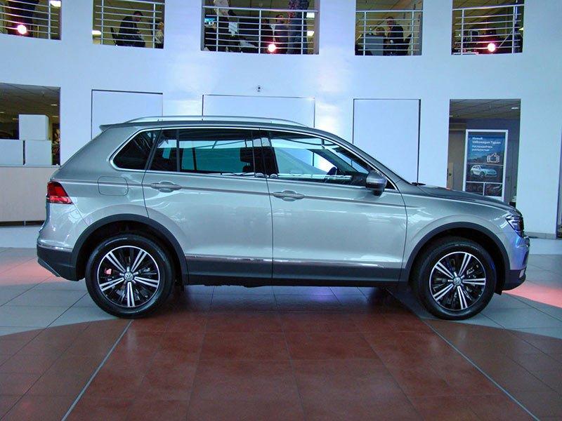 Новый Volkswagen Tiguan: продажи стартовали