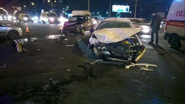 Проезд на красный свет привел к серьезной аварии