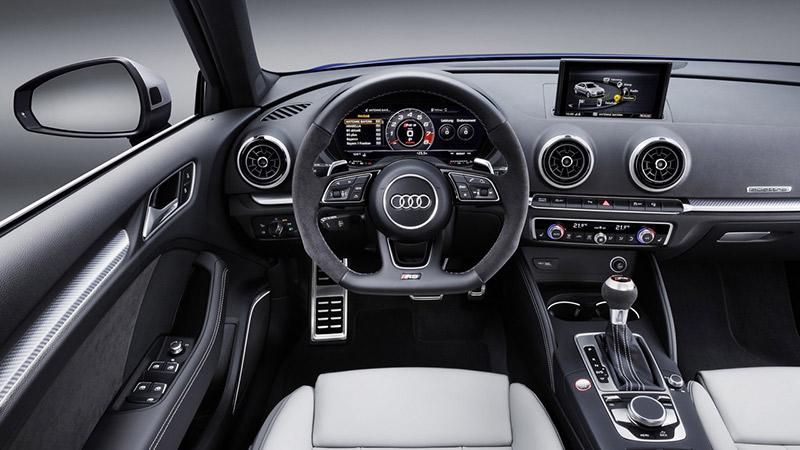 Обновленный Audi RS3 Sportback прибавил в мощности