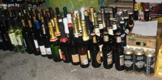 Гродненские таможенники пресекли попытку ввоза алкоголя