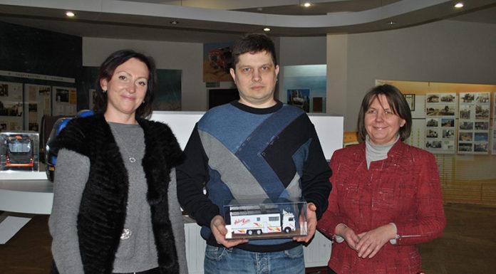 МиниМАЗ для автозаводского музея