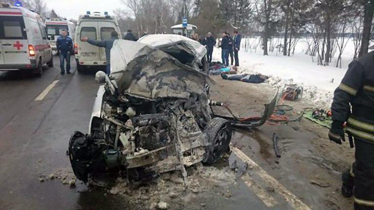 Девять человек погибли в ДТП в Новой Москве