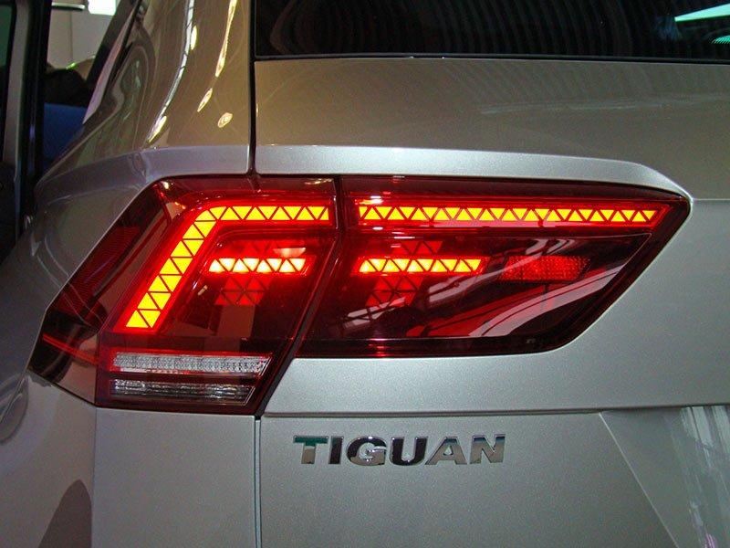В Минске прошла презентация нового поколения кроссовера VW Tiguan