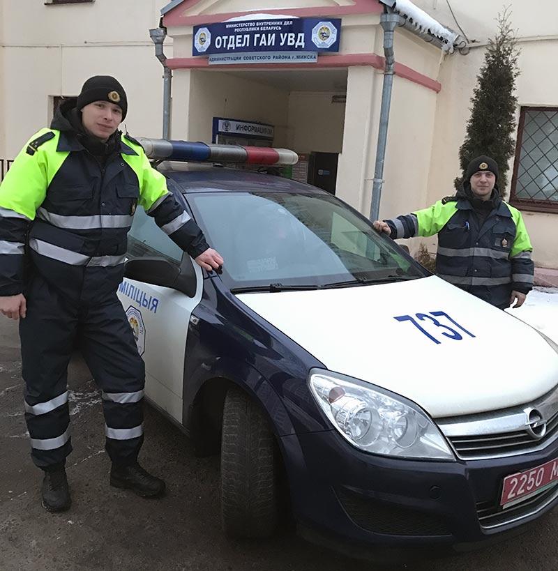 Инспекторы ДПС раскрыли преступление