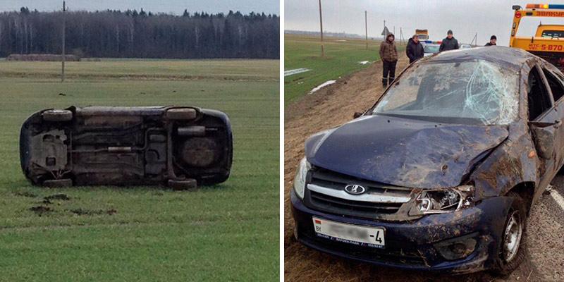 Пытаясь скрыться от ГАИ на Lada, 15-летний подросток попал в ДТП