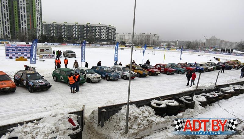 """Зимние трековые гонки """"Горячий лед-2017"""". 3-ий этап"""