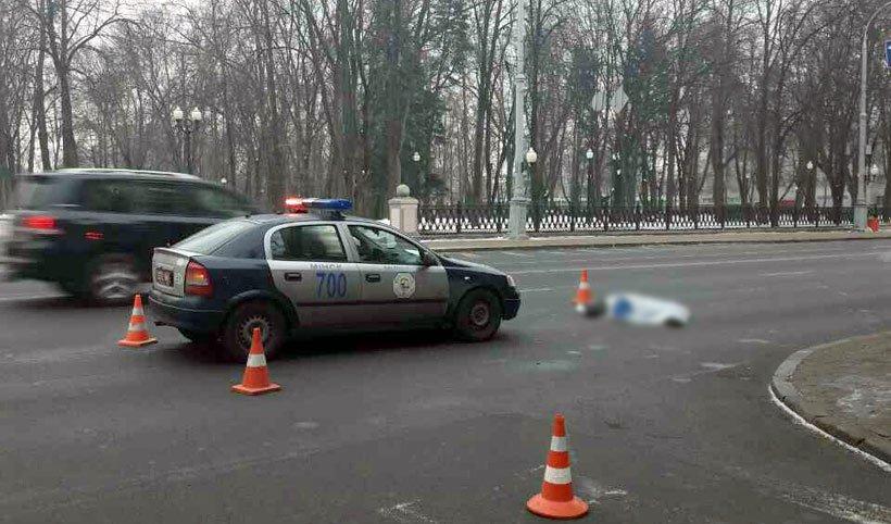 В Минске на переходе Porsche насмерть сбил женщину