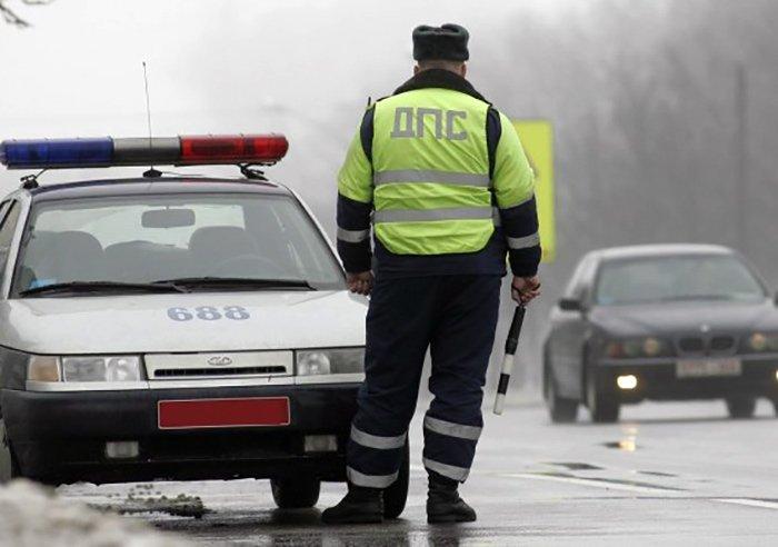 На трассе Минск – Гродно задержан пьяный бесправник