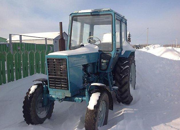Житель Гомельской области сдал рабочий трактор на металлолом