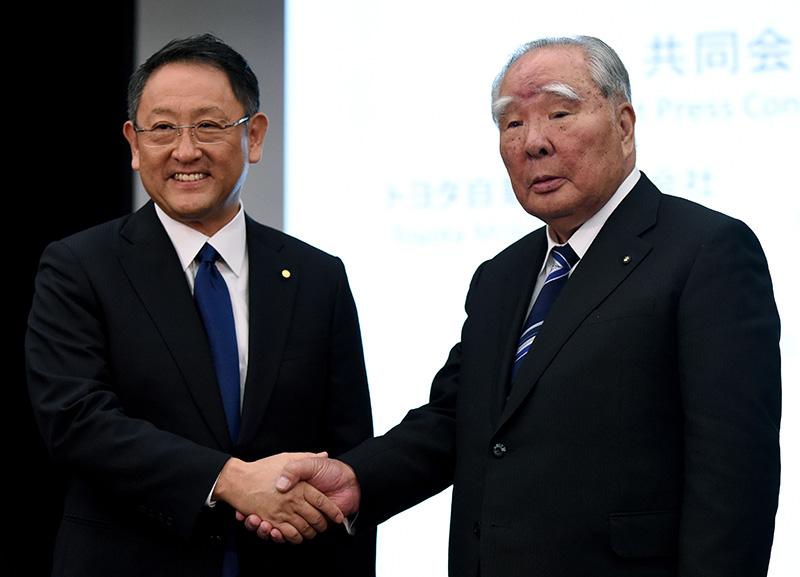 Suzuki и Toyota подписали меморандум о деловом партнерстве