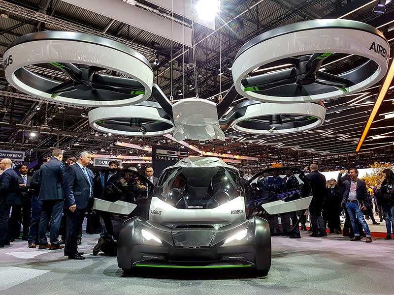 ВЖеневе Airbus представил Pop.Up - автомобиль-дрон