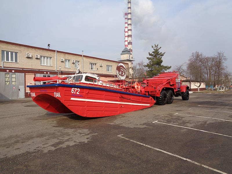 Уникальные возможности автомобиля-катера ПАК-40