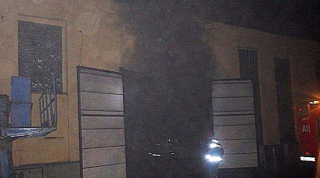 В Могилеве горел цех переработки шин частного предприятия