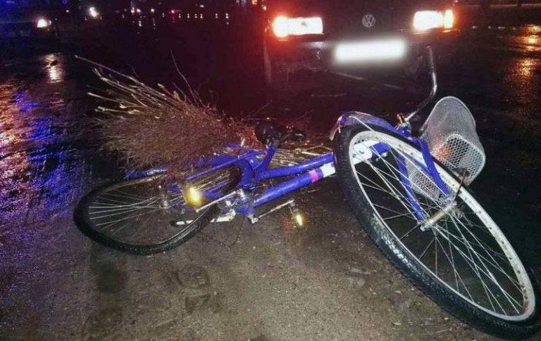 В Пружанском районе в результате двойного наезда погиб велосипедист