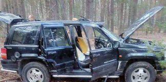 Jeep с взрывчаткой пытался прорваться на территорию Беларуси