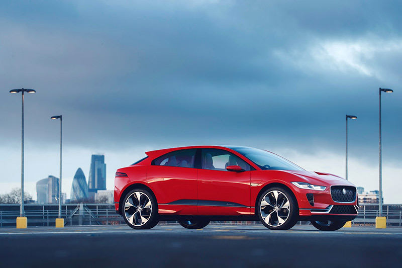 Jaguar Land Rover представляет концепт Jaguar I-PACE