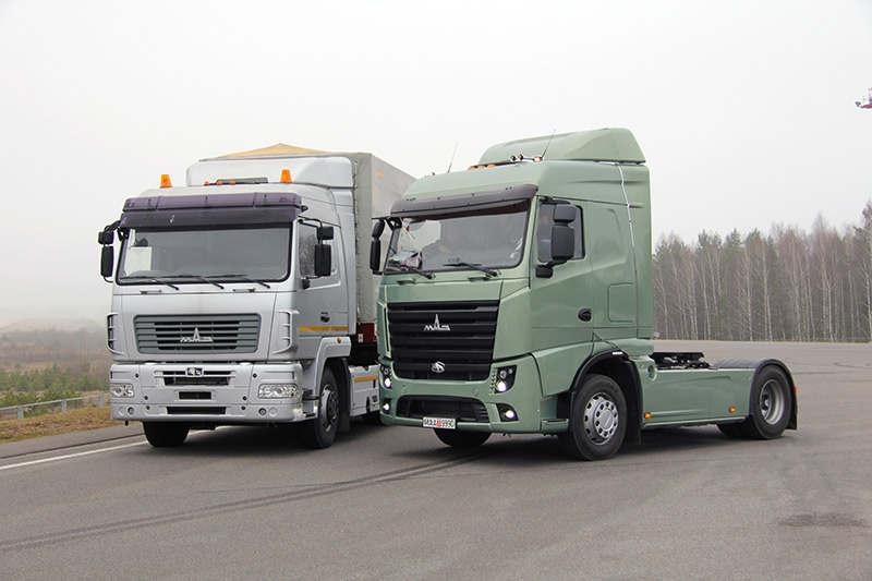 МАЗ вскоре начнет выпускать люксовые европейские грузовики