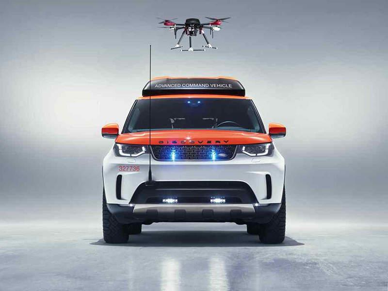 Совместный проект Land Rover и Красного Креста