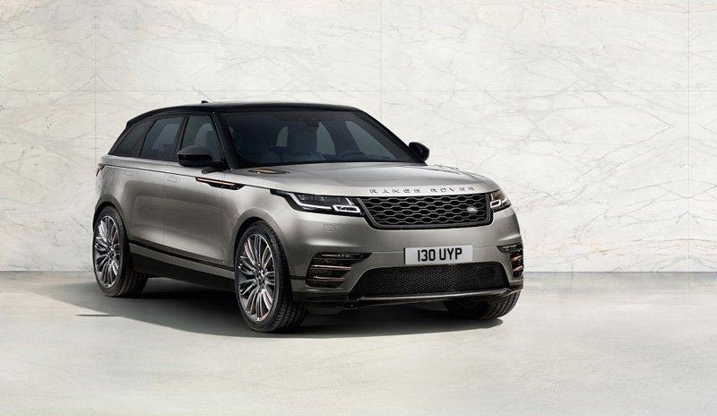 Компания Jaguar Land Rover представила Range Rover Velar