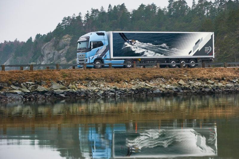 Volvo FH и FH16 - ограниченная серия Volvo Ocean Race 2017–2018