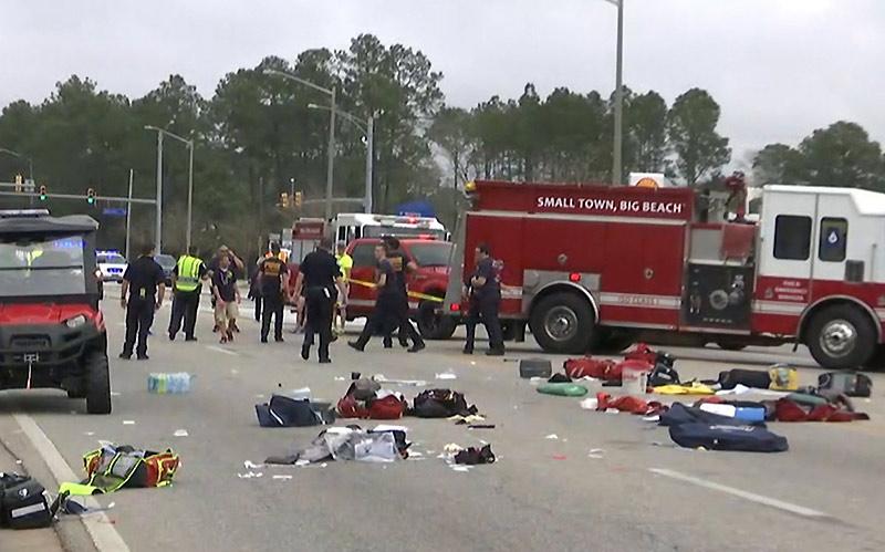 В Алабаме и в Новом Орлеане произошли массовые ДТП