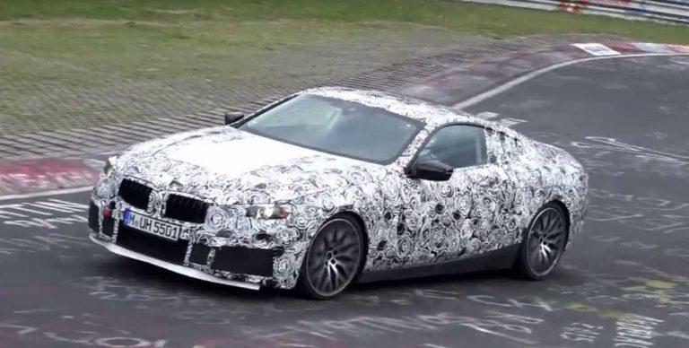 BMW вывел на тесты большое купе