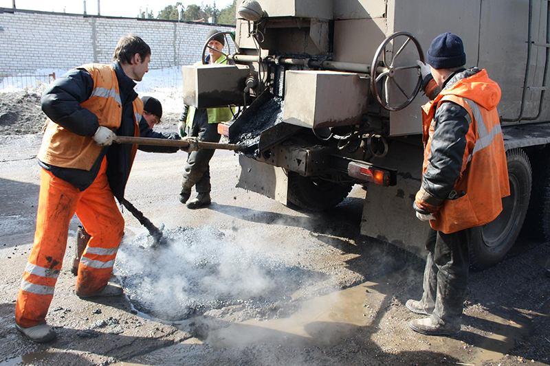 Дорожные службы в течении апреля должны навести порядок на дорогах