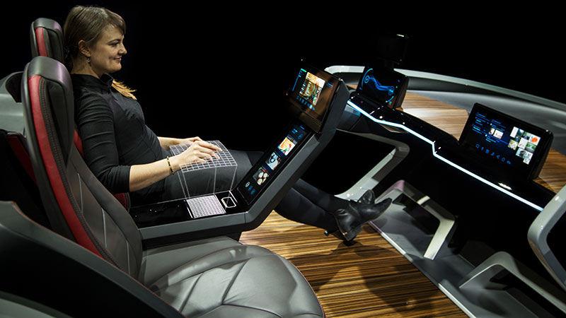 Инновационный концепт-кар от Bosch