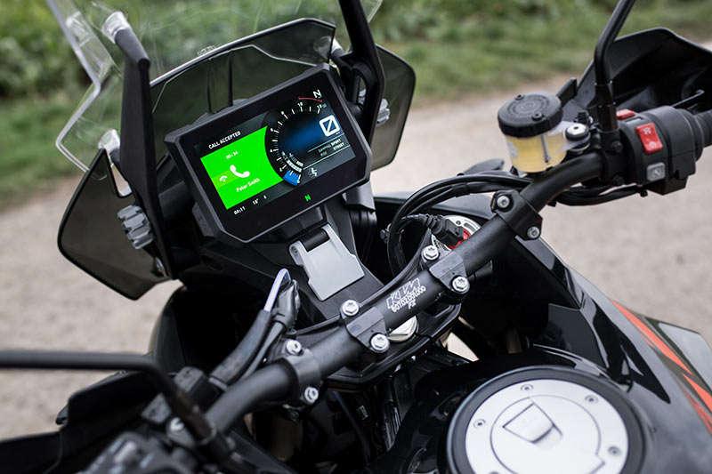 Система Integrated Connectivity Cluster (ICC) разработана специально для мотоциклов