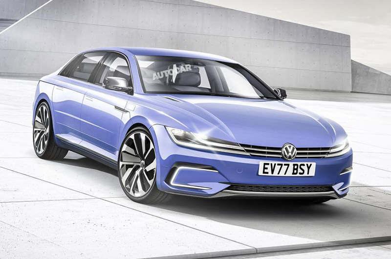 Volkswagen возродит Phaeton в качестве электрокара
