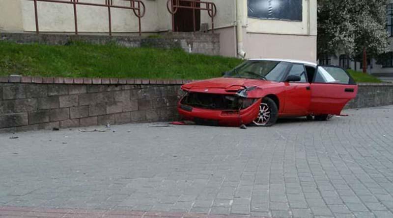 В Гродно на тротуаре сбита женщина