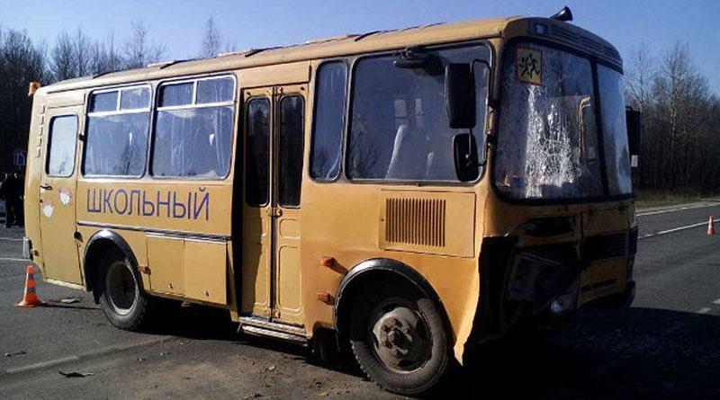 Под Бешенковичами ДТП с участием школьного автобуса с детьми