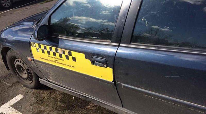 В Бресте женщина-пассажир угнала такси и попала в ДТП