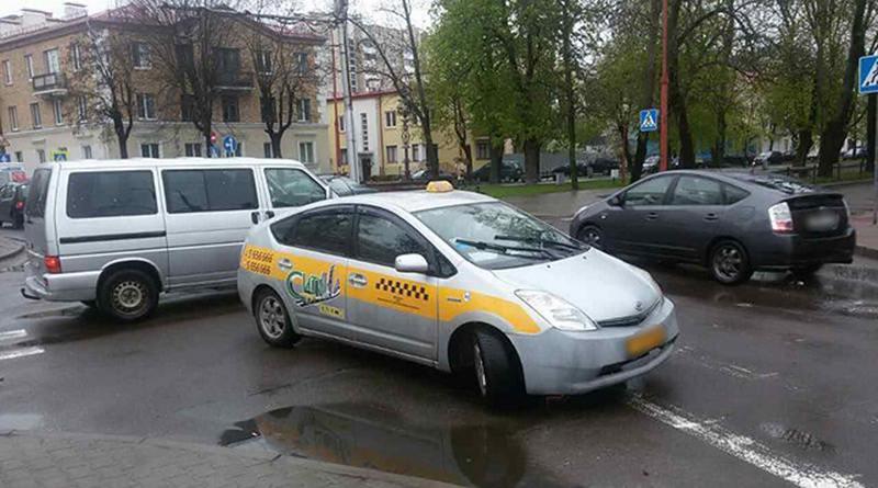 В Бресте таксист сбил пешехода